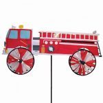 Fire Truck Ground Spinner