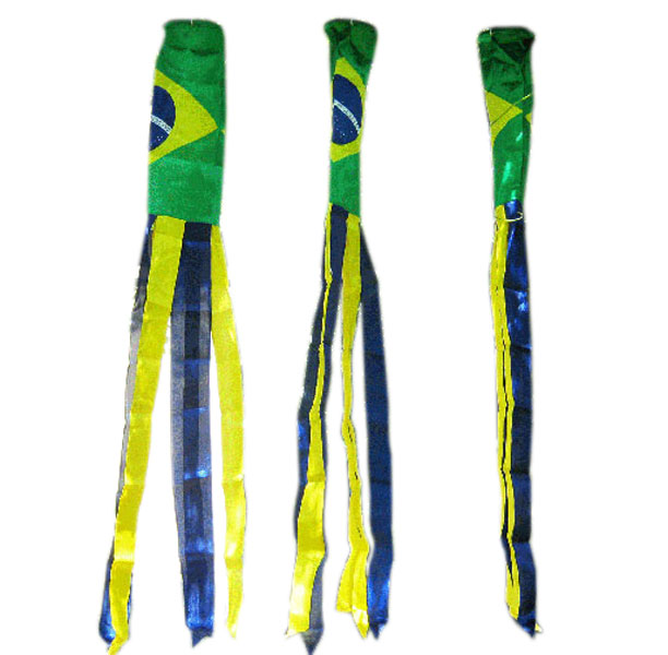 Brazilian Brazil Windsocks 60