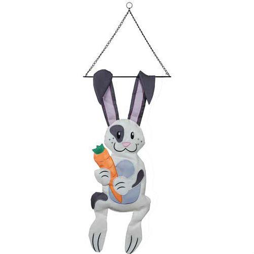 Fluffy Bunny Garden Swinger