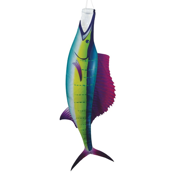 """Diva WINDSOCK--50/"""" Sailfish Windsock Spinner by In the Breeze"""